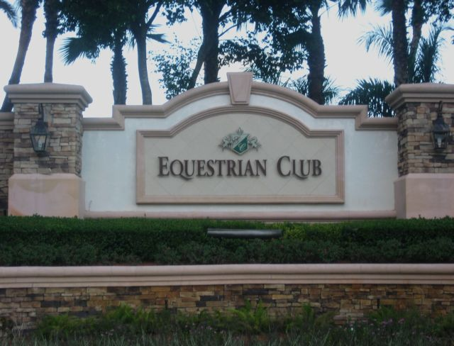 Welcome to Equestrian Club. Wellington